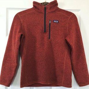 Patagonia Kids Boys Fleece Better Sweater Size10